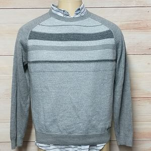 Calvin Klein Wool Blend Crewneck Sweater size L